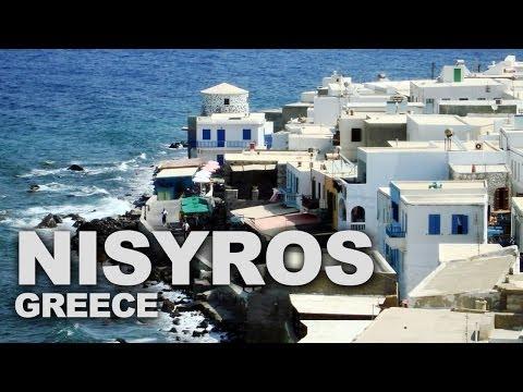 Nisyros, a Volcanic Greek Island in the Aegean Sea