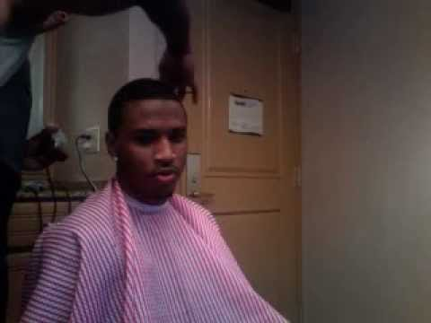 Trey Songz Haircut - YouTube