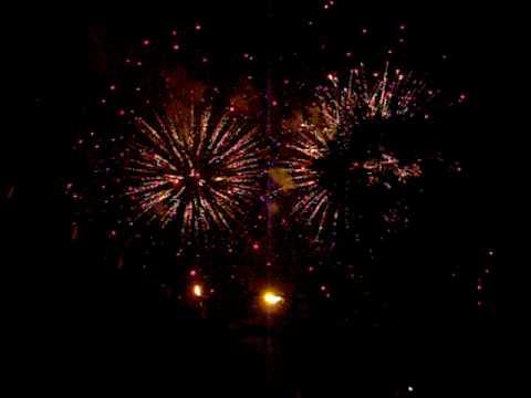 Fireworks at Nicollet Island