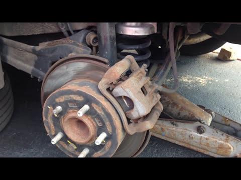 How To Replace Change Brake Pads From Hyundai Elantra 2010 2013 Tech Design 04 46 Hd