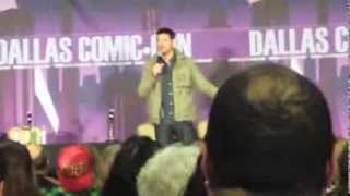 Karl Urban Q&A Panel - Dallas Comic-Con SciFi Expo 2014