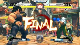 Alex Valle (Hugo) vs M0 Bhonstro (Dudley) - EVO 2015 USF4 Pools - 720p/60fps