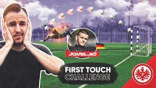 FIRST TOUCH CHALLENGE w/ DEJAN JOVELJIĆ (Eintracht Frankfurt)