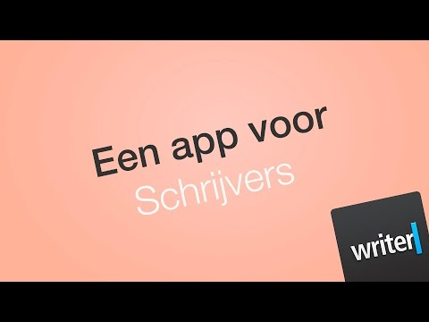 iA Writer Pro, een app om te schrijven! - Apps & Software (Dutch/NL Tutorial)