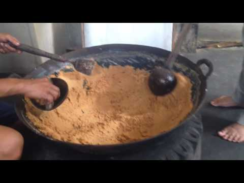 Making of Coconut crystal sugar 5