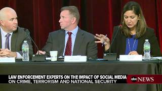Law enforcement officials, privacy experts discuss social media at Rutgers Police Institute