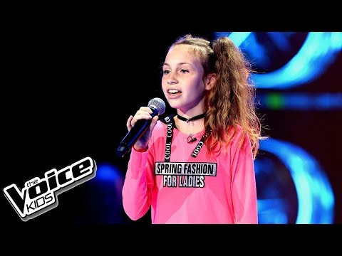 "Aleksandra Brzuszkiewicz – ""You Are So Beautiful"" – Przesłuchania w ciemno – The Voice Kids Poland"