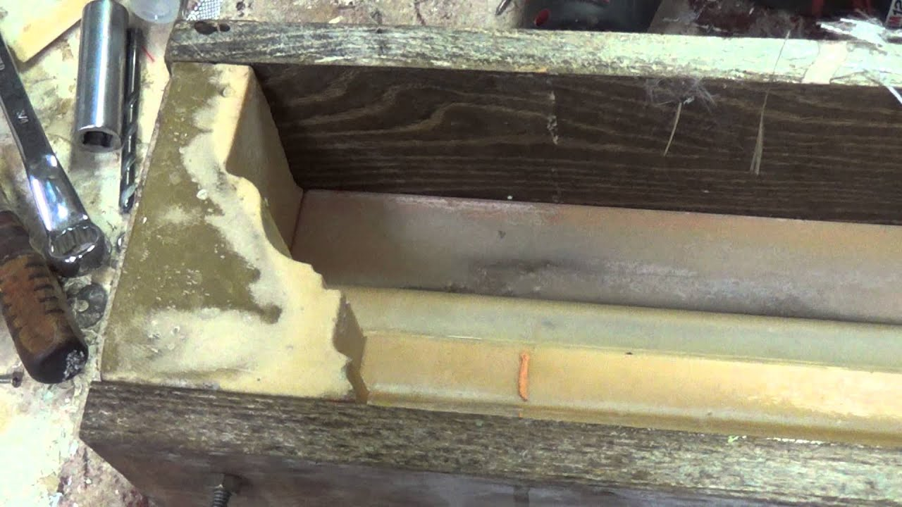 Concrete column base and crown molding 2 videos video 2 for Fiberglass crown molding