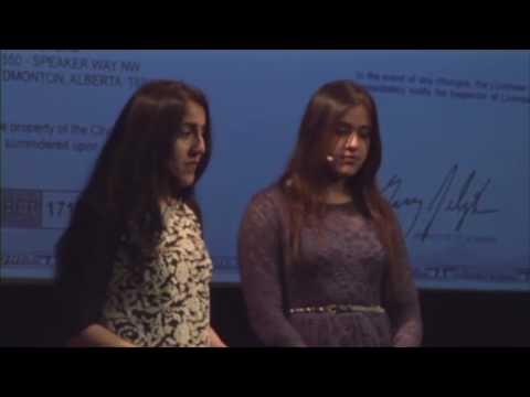 Work, Work, Work | Ghalia & Hania Aamer | TEDxYouth@Edmonton