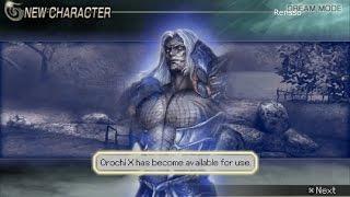 Warriors Orochi 2 - Unlocking: Orochi X (Shin Orochi) and stage 40 of Dream Mode