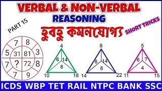 Reasoning Tricks in Bengali | Shortcuts | ICDS WBP Railway Group D NTPC Bank SSC CGL TET PART 15