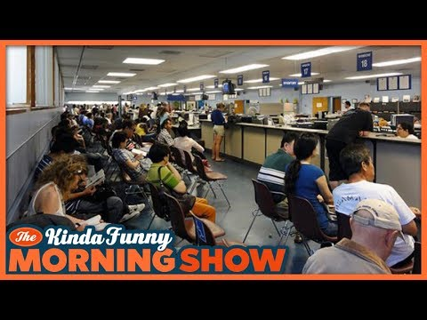 Andy Spent 8 Hours at the DMV - The Kinda Funny Morning Show 02.15.18