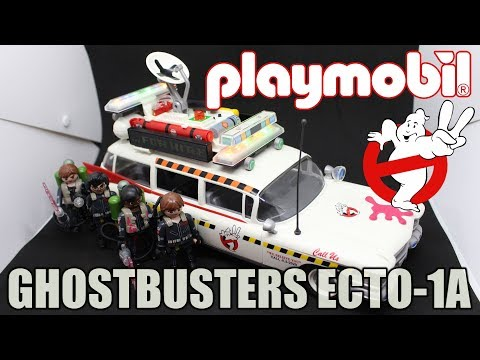 REVIEW: PLAYMOBIL GHOSTBUSTERS ECTO-1A PLAYSET!