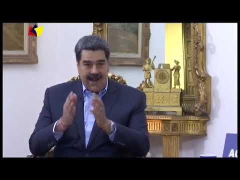 Presidente Maduro de nuevo en Aquí con Ernesto Villegas, 5 septiembre de 2021
