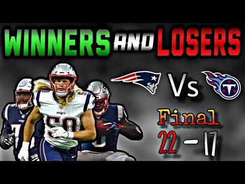 1e7dff1b 13 Winners and Losers from Patriots win over the Tennessee Titans