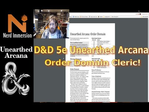 Unearthed Arcana Review: Order Domain Cleric   Nerd Immersion