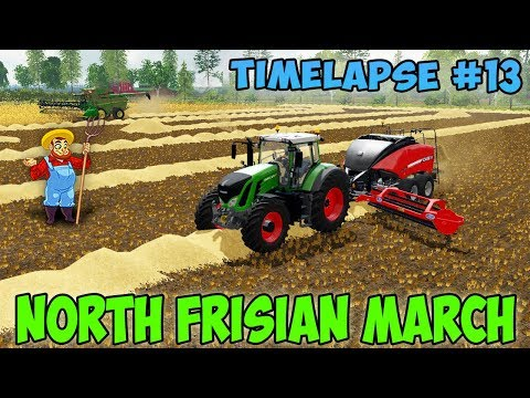 Farming simulator 17 North Frisian March Map v 2 0 Timelapse ep#13