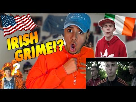IRISH Rap Movement | Irish Grime Reaction / Review  | LDK - Irish Grime Freestyle | Lit or Shit?