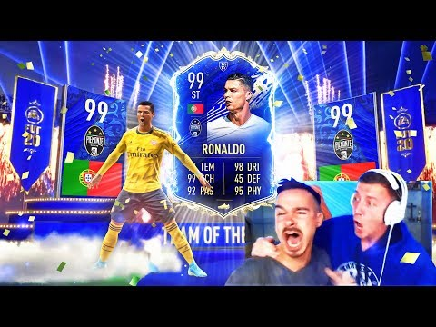 OMG! CRISTIANO RONALDO TOTY IM PACK !! 😱🔥 BESTES FIFA 20 TEAM OF THE YEAR PACK OPENING