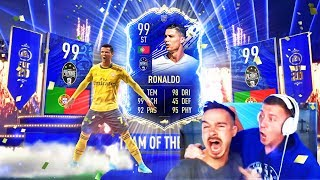 OMG! CRISTIANO RONALDO TOTY IN A PACK !! 😱🔥 BEST FIFA 20 TEAM OF THE YEAR PACK OPENING