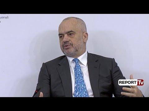 Report TV - Sipërmarrjet, Rama: Ta bëjmë Shqipërinë një Itali të vogël