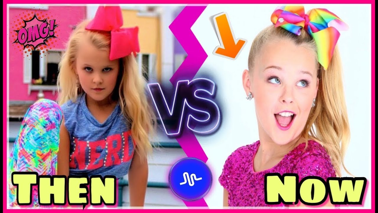 Jojo Siwa First Vs Last Musical Ly Compilation Jojo Siwa Then And Now Musicallys Youtube