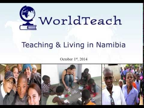 WorldTeach: Living and Teaching in Namibia
