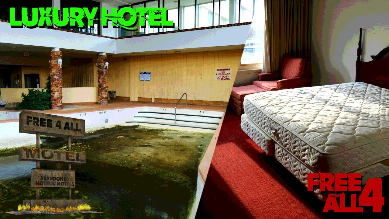 Abandoned chicago luxury hotel with indoor pool youtube for Hotel in chicago with swimming pool in room