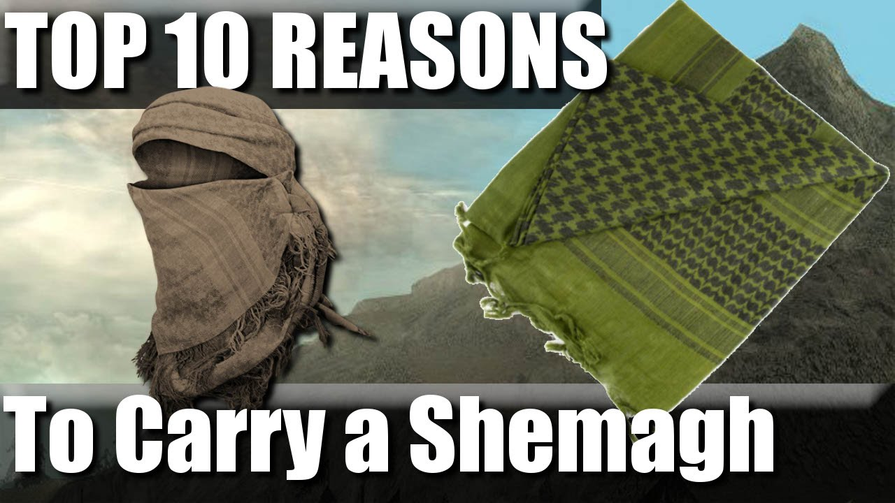 Top 10 Reasons to Carry a Shemagh for Hiking | RevHiker