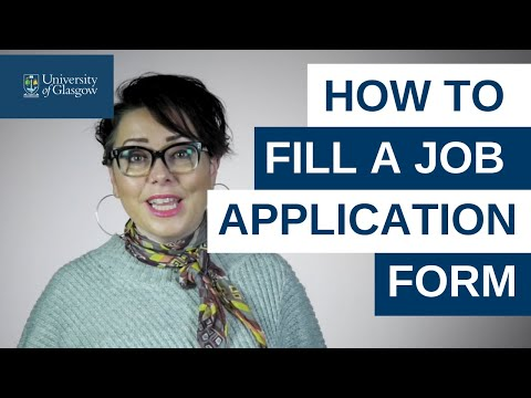 How To Fill A Job Application Form – Careers Advice