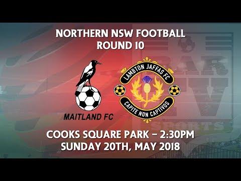 2018 NNSWF NPL Round 10 - Maitland Magpies FC v Lambton Jaffas FC