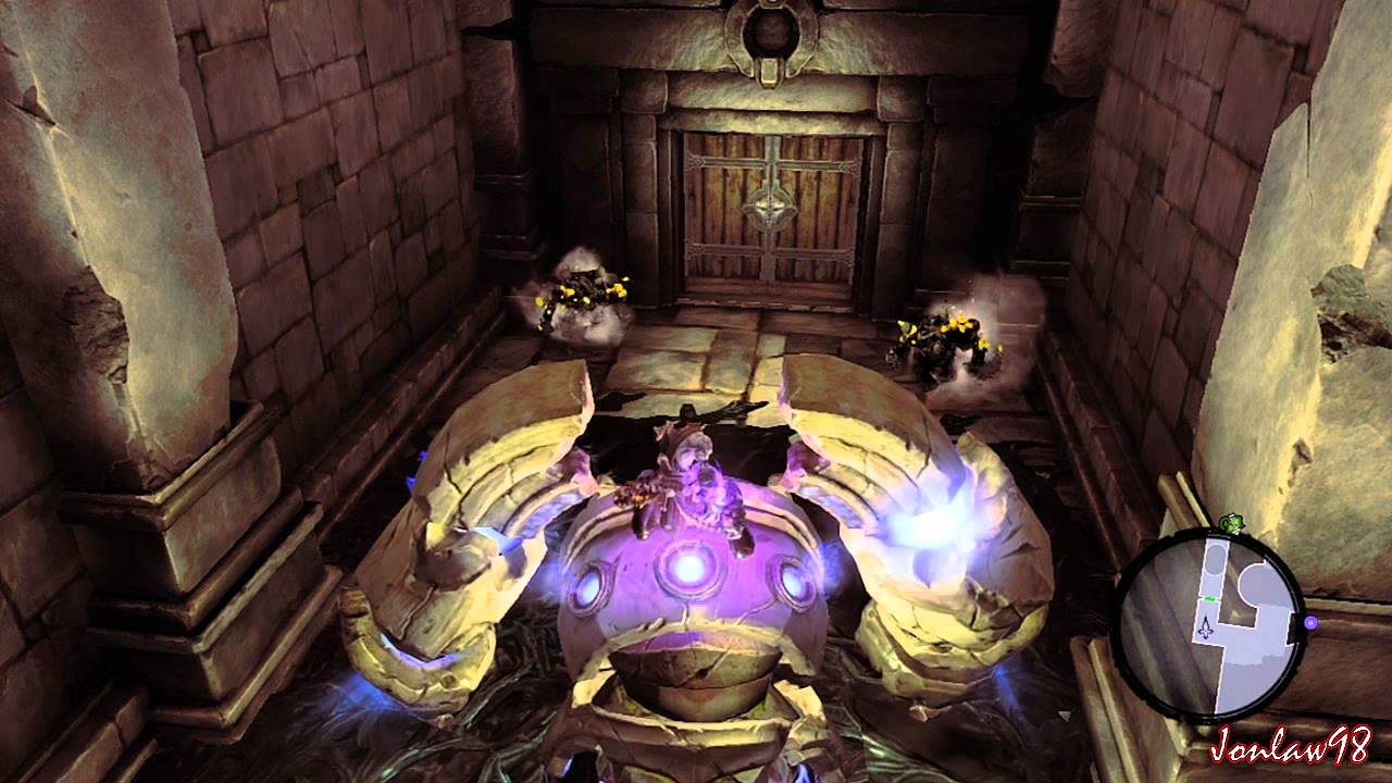 Darksiders 2 Great Low Mid Level Farming Area 6000exp Hr 0 Potions Hd Xbox Ps3 Pc Youtube