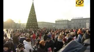 видео Новый год и Рождество в Минске