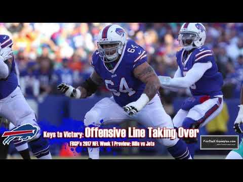 Football Gameplan's 2017 NFL Week 1 Preview: Jets vs Bills