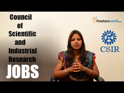 CSIR Recruitment Notification 2016– Research Fellow, Exam dates, results