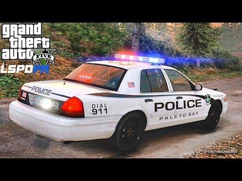 GTA 5 LSPDFR 0.3.1 - EPiSODE 630  - LET'S BE COPS - PALETO BAY PATROL (GTA 5 PC POLICE MODS)