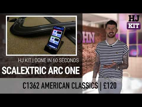 Done In 60 Seconds | Review: Scalextric ARC One American Classics