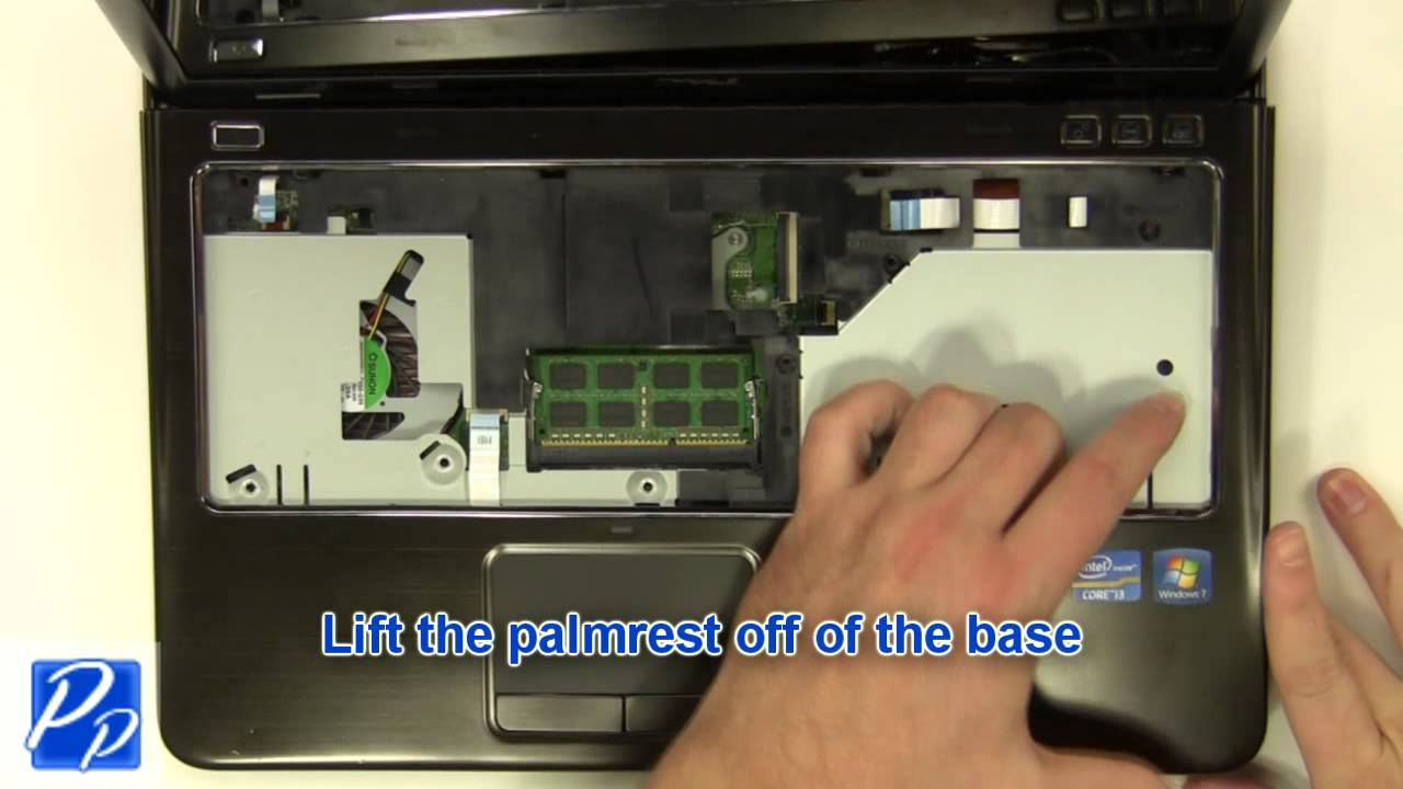 Dell Inspiron 14Z N411z CPU Cooling Fan Replacement Video Tutorial