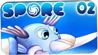 Spore Gameplay | Let's Play - #02 - Ich kann.. LAUFEN!