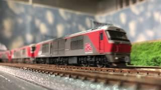 Nゲージ N天 北海道・愛知の赤熊!DF200!!色々貨物列車!