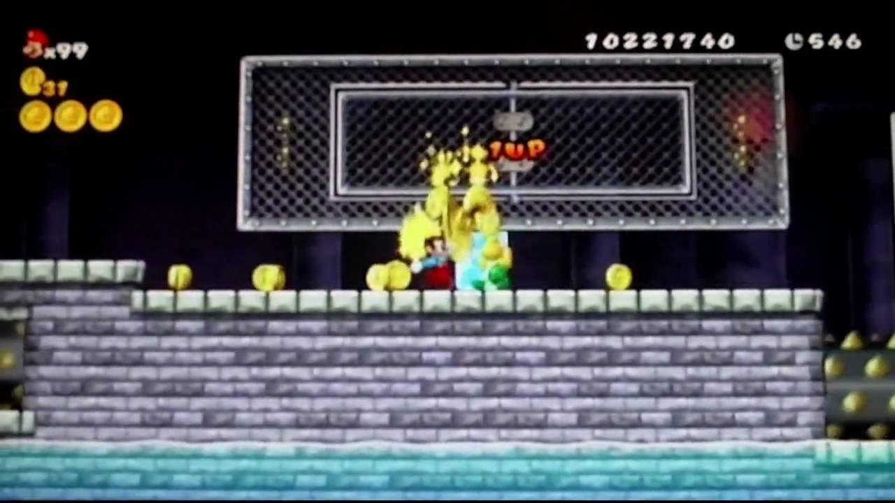 New Super Mario Bros Wii Münzen Glitch German Youtube