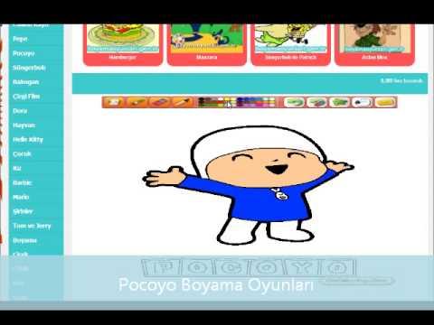 Pocoyo Boyama - [www.boyamaoyunlari.gen.tr]