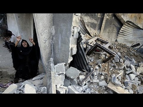 Bloodshed in Gaza as Israel bombards locations across the territory