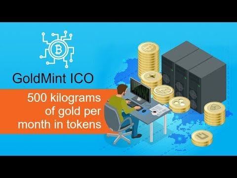 GoldMint ICO – 500 kilograms of gold per month in tokens