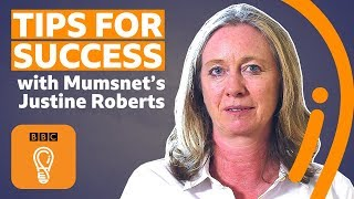 Four tips for success for women in business with Justine Roberts | BBC Ideas