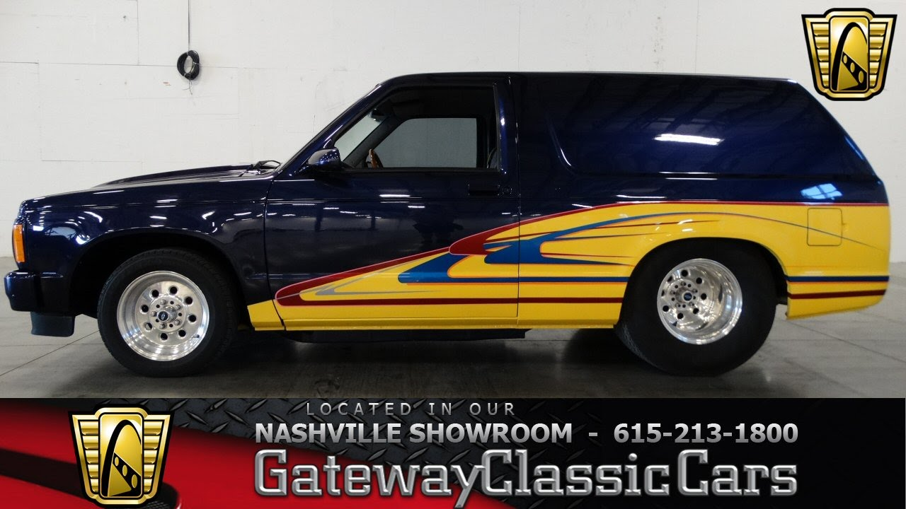 1984 GMC Jimmy - Gateway Classic Cars of Nashville #60 - YouTube