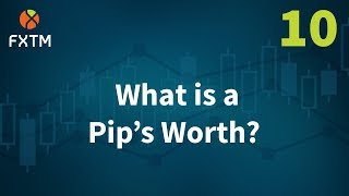 10 What is a Pip's Worth? - FXTM Learn Forex in 60 Seconds