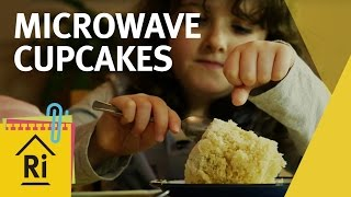 Science For Kids - How To Make Microwave Cupcakes - ExpeRimental #20