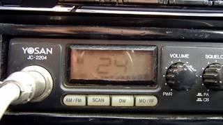 Радиосвязь из автомобиля Запорожье - Волоколамск.