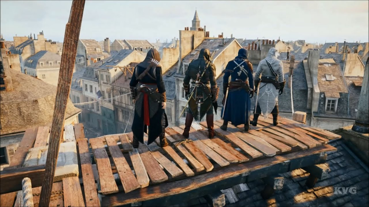 Assassin S Creed Unity Multiplayer Gameplay Pc Hd 1080p